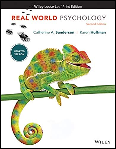 Real World Psychology by Huffman/Sanderson