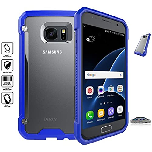 OHOH Hero Series Galaxy S7 Case Shockproof Ultimate Protection for Galaxy S7 Retail Packaging(Blue) Sales