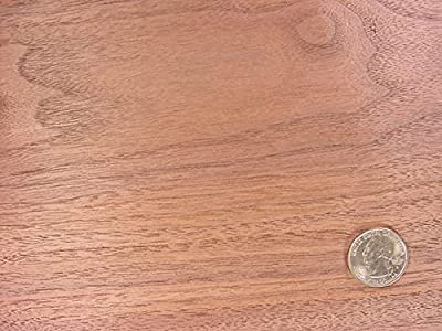 "Walnut Plywood 1/4"" X 24"" X 24"" Good 1 Side"