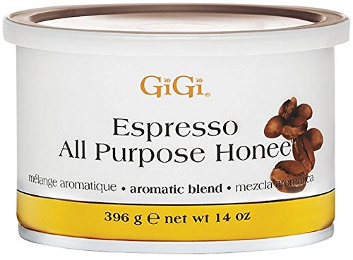 GiGi Espresso All Purpose Honee Wax 14 oz (Pack of 3)