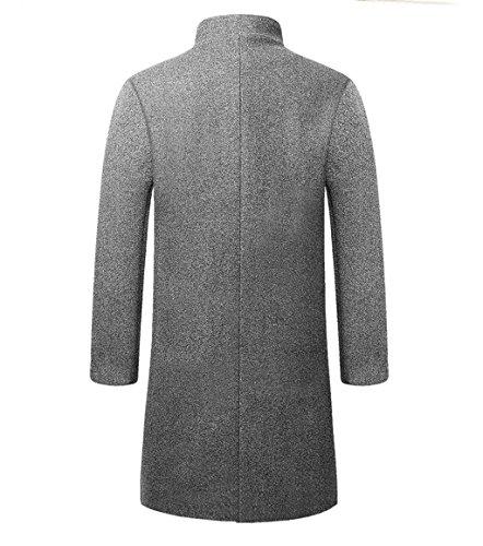 Wool High-end Tang Suit Medium Long Coats National Costume Characteristic Dress Retro Jackets Coats Men's Dress Full Dress by BAOLUO-Tang Suit (Image #1)