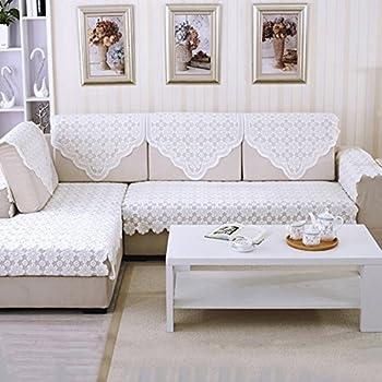 Amazon Com Yazi Lace Sofa Back Covers Table Sofa Doily 25