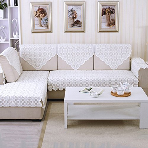 yazi Sectional Sofa Slipcovers Back Couch Covers Furniture Protector 29inch by 35 1/2 inch, Set of
