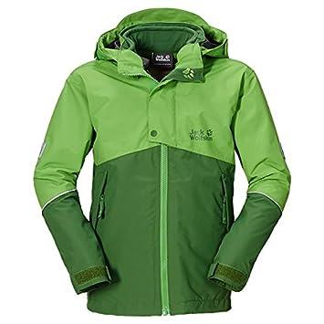 new styles b25aa 1e7a0 Jack Wolfskin Jungen 3in1-Jacke Boys Snow Wizard Jacket