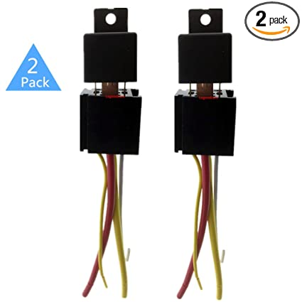 Amazon.com: Automotive Relay 4 Pin, Lsgoodcare 12V 80A On/Off SPST on 4 pin relay with pigtail, 4 pin relay operation, 4 pin relay testing, 4 pin headers, 4 pin fuel relay, 4 pin switch circuit diagram, 4 pin relay terminals, 4 pin relay harness, 4 pin micro relay, 4 pin relay sockets, 4 pin power relay, 4 pin relay connector, 4 pin horn relay, 4 pin to 5 pin harness, 4 pin toggle switch, 4 pin relay lighting, 4 pin relay wire,