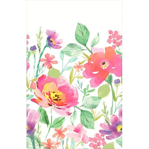 54 x 102 by Amscan 54 x 102 by Amscan 571645 1 Piece Any Party Made from Paper Watercolor Florals Table Cover Floral Garden