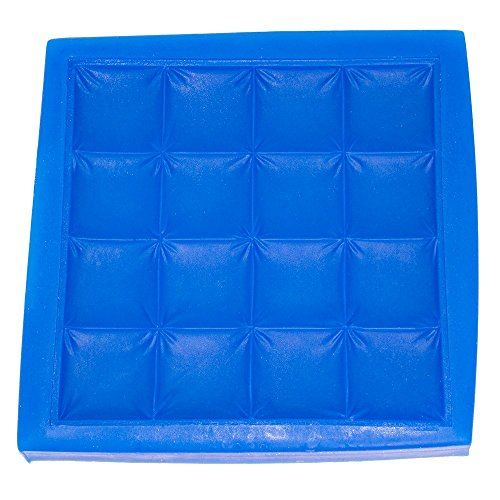 First Impression Molds B241 Quilted Baby Blanket Silicone Cake Decorating Mold, Large, Blue (Cake Decorating Quilt compare prices)