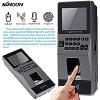 KKmoon Biometric Fingerprint Access Control System TCP/IP, RS485 Attendance Machine Electric RFID Card Reader Sensor