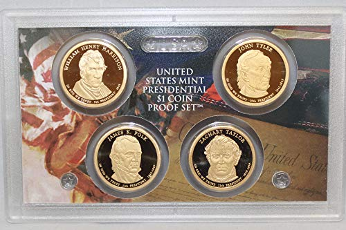 2009 S Presidential Dollar US Mint Poof set - (OGP) 4 coins