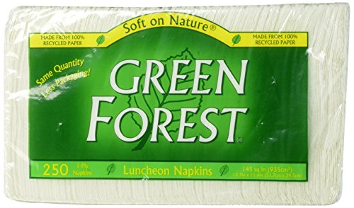 Green Forest Luncheon Napkins Recycled product image