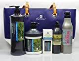 Lorenzo Professional 5pc. Hair Care Tote Bag Gift Set (Rejuvenating)