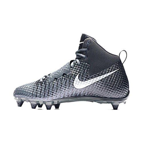 Nike Herren Lunarbeast PRO TD Fußballschuh Anthrazit / Metallic Silber-Schwarz