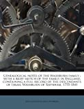 Genealogical Notes of the Washburn Family, Julia Constantia Chase Washburn, 117874177X