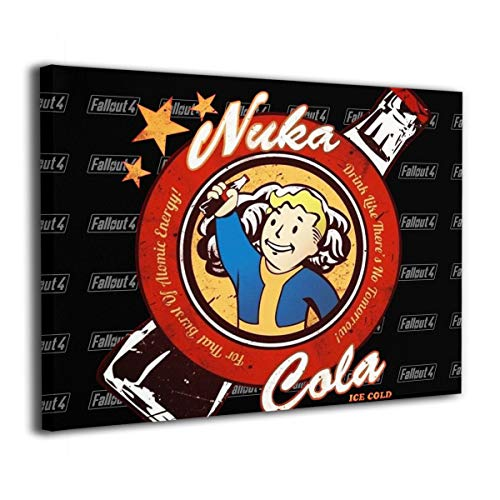 Fallout 4's Drink Nuka Cola - Giclee Wall Art 3D Print Painting None Frame Decorative for Home Decorations