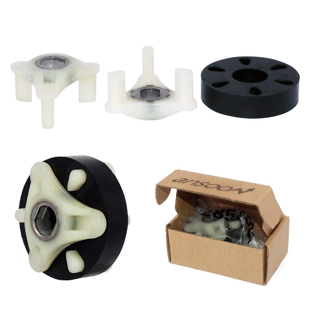 285753A Motor Coupling Coupler Washer kit Machine Replacement Part for Whirlpool Kenmore Maytag Roper