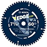 Bosch DCB760 Daredevil 7-1/4-Inch 60-Tooth Ultra Fine Finishing Circular Saw Blade