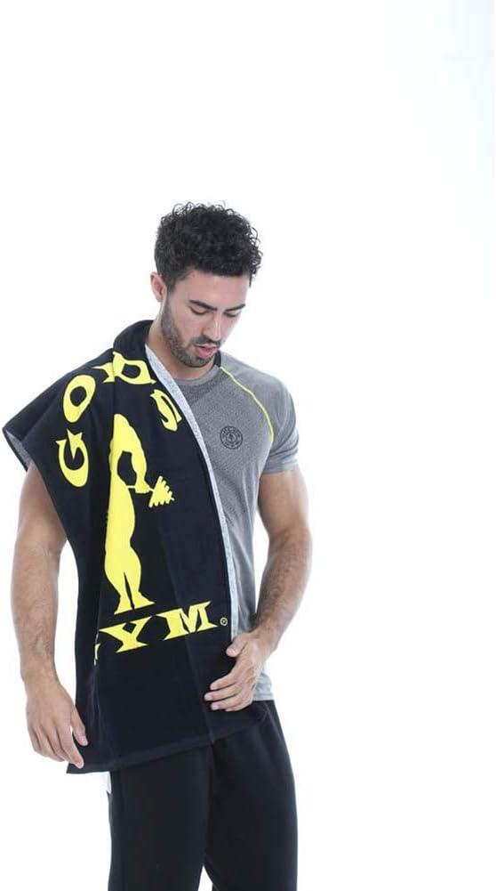 Gold/´s Gym Towel Toalla Negro Talla /Única Unisex Adulto