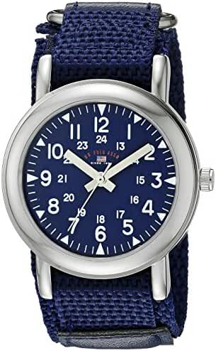 U.S. Polo Assn. Kids' USB75020 Analog Display Analog Quartz Blue Watch
