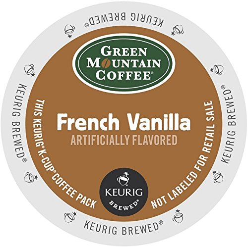 Green Mountain Coffee K-Cups, French Vanilla, 96 Count ( Packaging may vary ) (Old Time Santa)