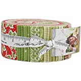 Christmas Figs Jelly Roll 40 2.5-inch Strips by for Moda Fabrics 20310JR