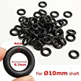 New 60Pcs 9.7x4mm Air Control Valve Seal O-Ring for Tyre Tire Changer Foot Pedal