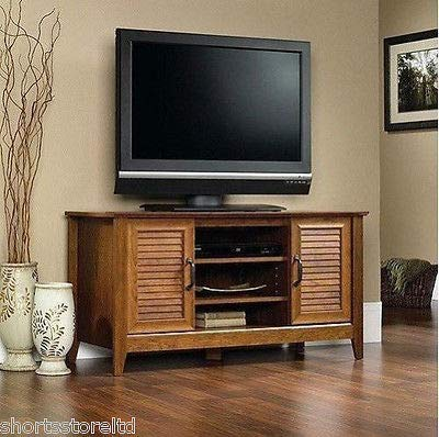 Classic Stand Tv Cherry - Wood TV Stand Classic Home Entertainment Media Center Flat Screen TV Table Cherry Wooden Storage Unit TV Cabinet Durable Armoire Console Living Room Furniture 47