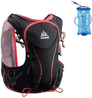 Azarxis - Mochila de Hidratación Trail Running 5L Ligera Chaleco ...
