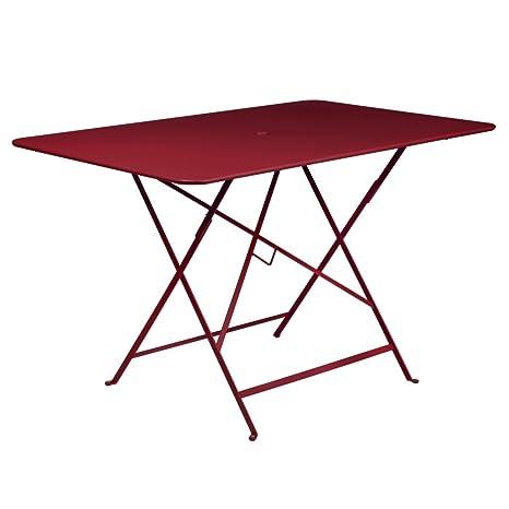 Tavoli Da Giardino Fermob.Fermob Tavolo Bistro Rosso L 117 Cm Amazon It Giardino E
