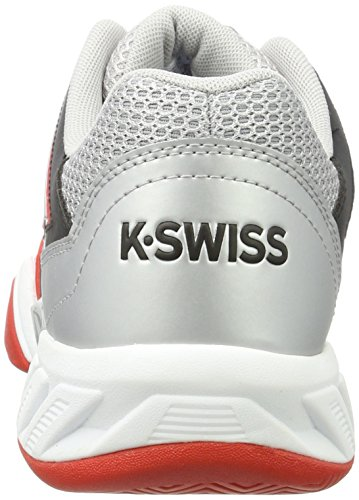 K-Swiss Herren Bigshot Light 3 Tennisschuh Feuriges Rot / Schwarz / Silber