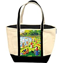 New Yorker Canvas Tote Bag - Sunday Afternoon in Central Park