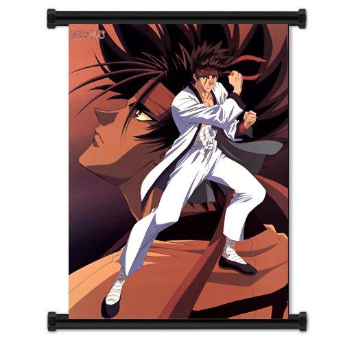 (Rurouni Kenshin Anime Fabric Wall Scroll Poster (16