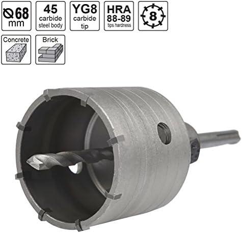 TIMESETL Coronas Perforadoras SDS Plus 68mm+ 110mm Sierra de ...