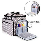 Luxja Sewing Machine Carrying Bag with Removable