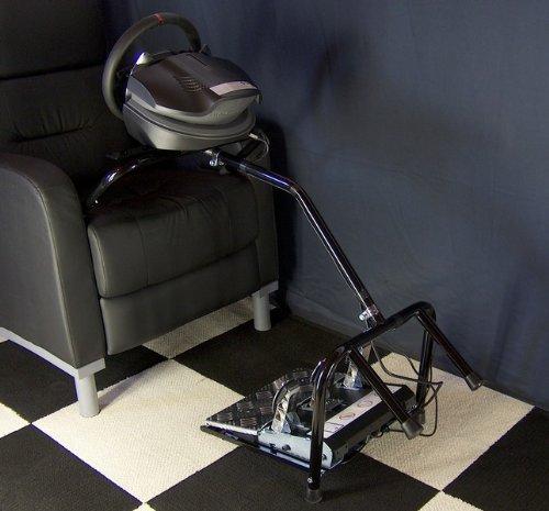 XL21 Xlerator Wheel Stand, Big Boy Lap Bar for Logitech G27 and Fanatec Wheels