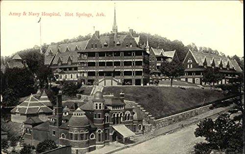 - Army & Navy Hospital Hot Springs, Arkansas Original Vintage Postcard