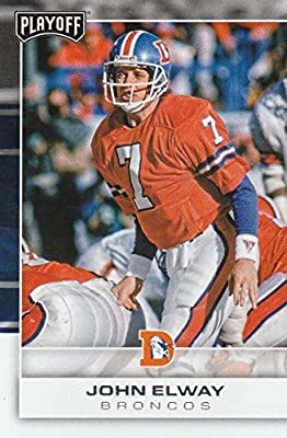 2017 Panini Playoff #127 John Elway Denver Broncos Football Card