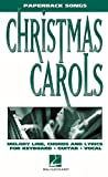 Christmas Carols Paperback Songs