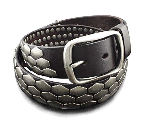 Leather Biker Belt - 2