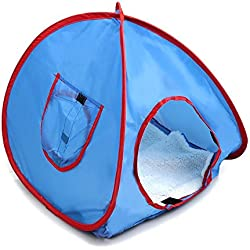 Pet Tent - TOOGOO(R) NEW Small Pop Up Camping Tent Small Animal Tent Rabbit Bed