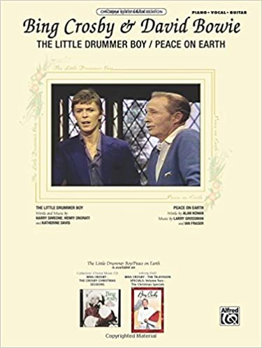 The Little Drummer Boy Peace On Earth Pianovocalchords Sheet