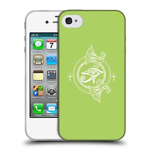GoGoMobile Coque de Protection TPU Silicone Case pour // Q09830628 Religion 23 poule // Apple iPhone 4 4S 4G