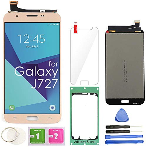 - Samsung Galaxy J727 LCD Display Screen Replacement Touch Digitizer Assembly 5.5