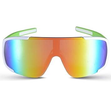 WMYY Vidrios Polarizados Protección UV Control De Arena Anti-Reflejo Gafas De Ciclismo Protección Radiológica Resistencia Al Impacto Deportes Al Aire Libre ...