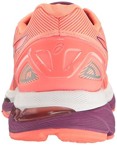 Coral Gel Flash Oscuro Zapatillas Mujer 19 de para Blanco Nimbus Asics Running Púrpura zdwq8nRffP