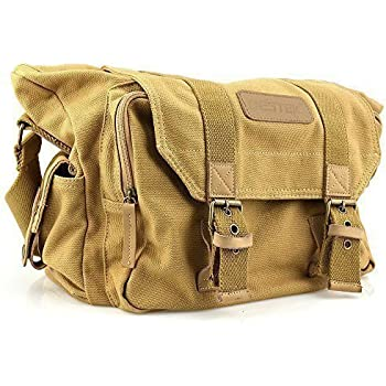 Amazon.com : koolertron DSLR SLR Camera Canvas shoulder bag for ...