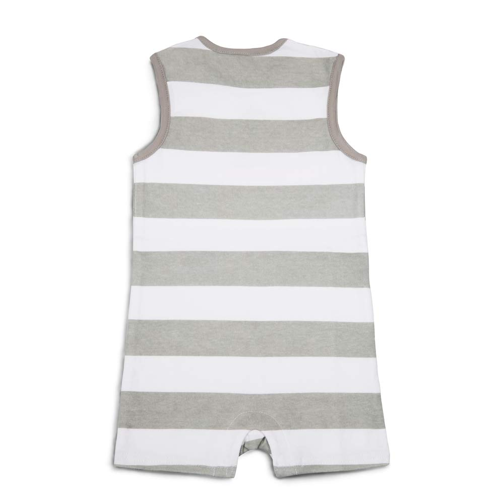 Pavilion 12-24 Month Gray Boot Country Baby Boy Romper