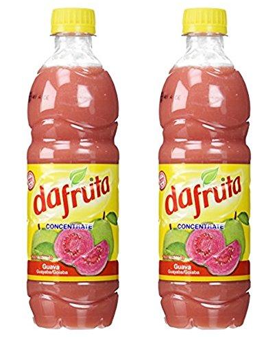 DaFruta | Guava Concentrate - Goiaba | Guyaba - 16.9 FL.OZ 500ml (PACK OF 2)