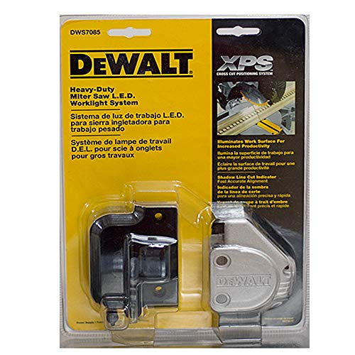 DEWALT DWS7085 Miter-Saw LED Work Light System For DW718 DW717 Tool (Best Miter Saw Laser Guide)