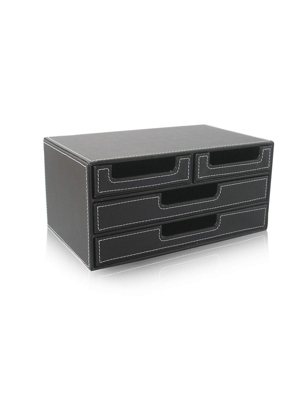 File Cabinet Drawer Showcase Multi-Function Cabinet Desktop Archive Storage Manager 4 Drawers Black Office File Storage Cabinet Storage Box Filing cabinets