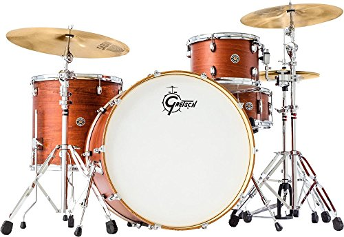 Gretsch Drums Catalina Club Rock 3-Piece Shell Pack Satin Walnut Glaze